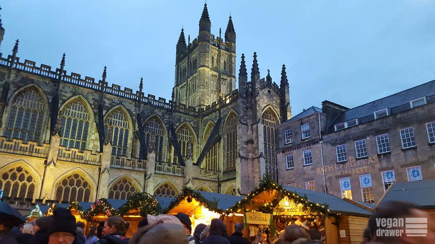 Bath Christmas Market by the Abbey